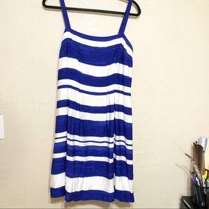 Loft Strapped Sun Dress 8